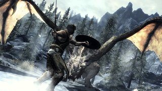Skyrim for Xbox 360 adds Kinect and Voice commands