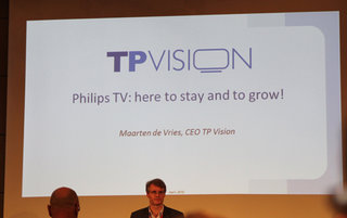 Philips TV: 'Here to stay and to grow', says TP Vision