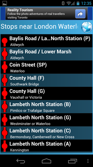 app of the day live london bus tracker review android  image 6