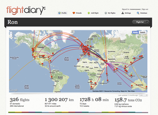 WEBSITE OF THE DAY: Flight Diary