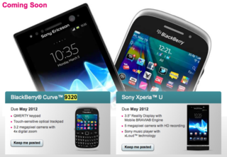 BlackBerry Curve 9320 outed by T-Mobile