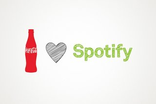 Spotify partners with Coca-Cola and begins work on joint applications
