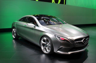 Mercedes Concept Style Coupe pictures and hands-on