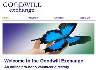 WEBSITE OF THE DAY: Goodwill Exchange
