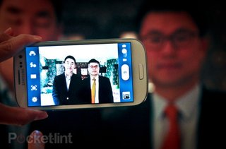 Samsung Galaxy S III: the phone is actually watching you
