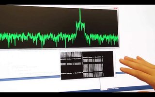 SoundWave demonstrates its hand gesture technology - no motion camera needed