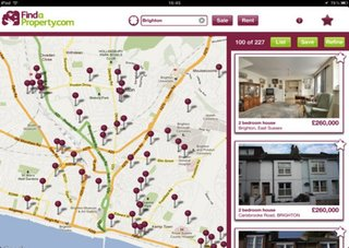 Findaproperty.com iPad app taking the stress out of moving house