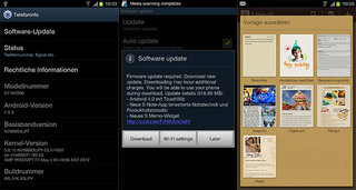 Samsung Galaxy Note Ice Cream Sandwich starts a-rolling - still no sign in UK though