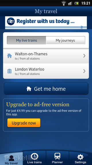 app of the day national rail enquiries review android  image 2
