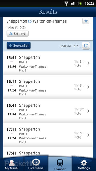app of the day national rail enquiries review android  image 5