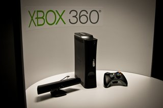 Xbox 360 set for Kinect controlled Internet Explorer browsing