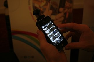 hands on bubblescope 360 degree iphone camera accessory image 3