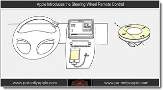 Apple working on a steering wheel remote for handsfree control of your car stereo