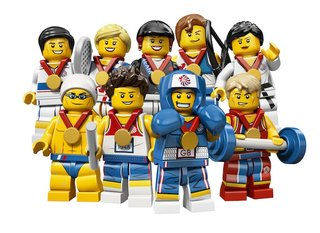 Lego creates exclusive Team GB Olympic minifigs