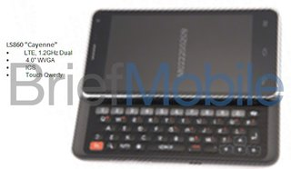 LG to resurrect the slide-out Qwerty with LS860 Cayenne handset