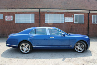 Bentley Mulsanne pictures and hands-on