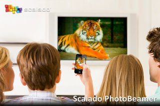 Scalado PhotoBeamer iOS app allows you to wirelessly share snaps on a larger screen
