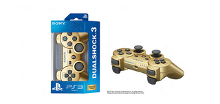 Metallic Gold PS3 Dualshock 3 controller coming in June