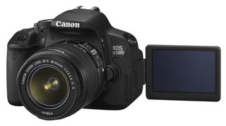 Canon EOS 650D: The 18-megapixel touchscreen DSLR