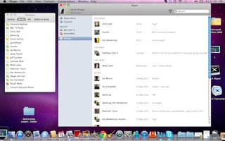 Mac users get Skype 5.8 update