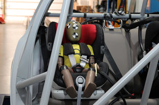 Crash test kiddies: Inside the Britax test centre
