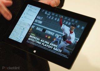 Microsoft Surface tablet: Only Wi-Fi initially