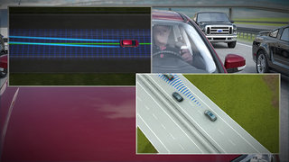 New Ford traffic jam technology takes pain out of driving in queues