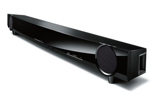 Yamaha YAS-101 soundbar is so thin you'll hardly notice it, until you turn it on