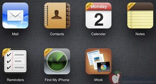 iCloud will backup reminders and notes with iOS 6 update