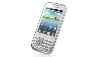 Samsung Galaxy Chat arrives, just as BlackBerry phones move away from Qwerty keyboards