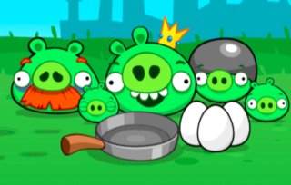 Pig's eye view: Rovio planning app that sees you play against the Angry Birds