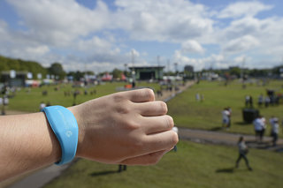 Barclaycard PayBand at Wireless 2012: We test the 'cashless festival' concept