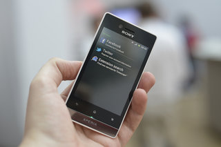 Sony Xperia Miro pictures and hands-on