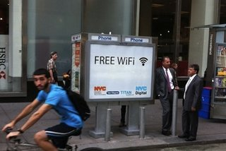 New York payphones become free Wi-Fi hotspots