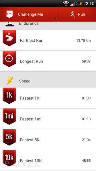 app of the day nike running review android  image 3