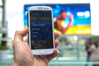 visa paywave on the samsung galaxy s iii pictures and hands on image 5
