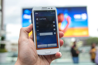 visa paywave on the samsung galaxy s iii pictures and hands on image 6