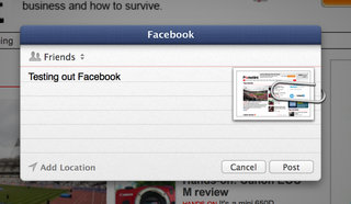 facebook in os x mountain lion details we go hands on image 4