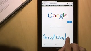 Google introduces handwriting for web searches on tablets and smartphones