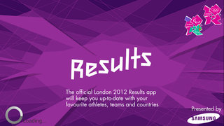 "APP OF THE DAY: London 2012 ""Results"" for iOS, BB and Android"