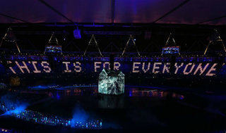 Olympic opening ceremony sees Sir Tim Berners-Lee tweet 'This is for everyone'