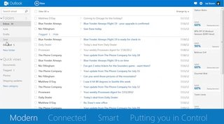Hotmail becomes Outlook.com as Microsoft revamps email platform with cleaner interface and social network integration