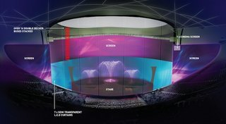 World's biggest musical to feature 10,000 square metres of LED screens