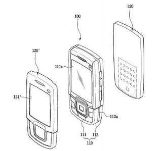 Samsung perfume-emitting phone patented
