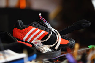 Adidas looks to future digital Olympic Games with the Twitter training shoe concept