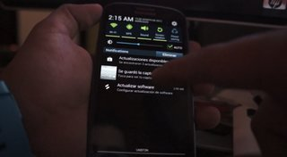 Android 4.1 Jelly Bean on Samsung Galaxy S III sneak peak (video)