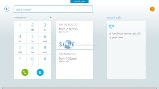 Skype app for Microsoft's Modern UI screenshots revealed