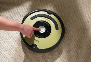 iRobot Roomba 600 vacuum cleaner does the hard work so you don't have to