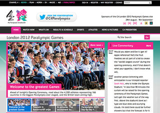 WEBSITE OF THE DAY: Paralympics 2012