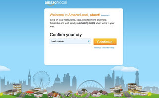 Amazon Local now offers daily deals for shoppers looking for a bargain in London
